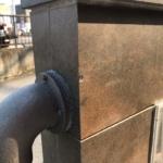 コンクリートの欠け補修